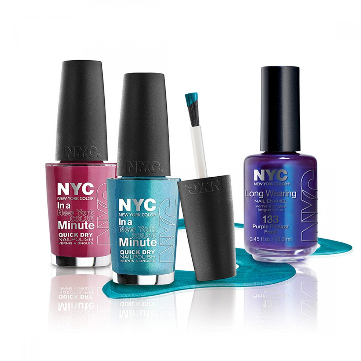 SecretShop24.com | N.Y.C In a New York Color Minute Quick Dry Nail ...