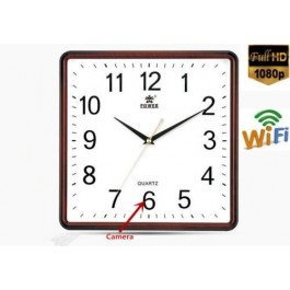 Wall Clock Spy Camera