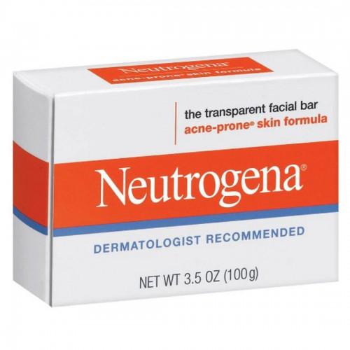 Neutrogena Acne-Prone Skin Formula Transparent Facial Bar, 3.5 OZ (100g)