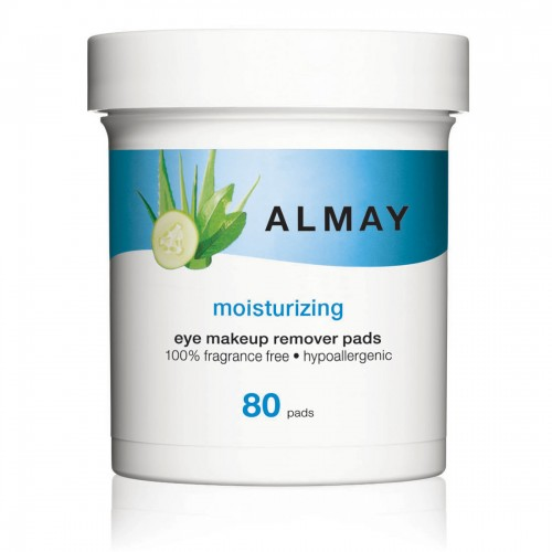Almay Moisturizing Eye Makeup Remover Pads (80 Pads)