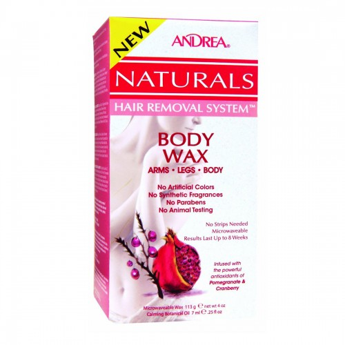 Andrea Naturals Hair Removal System Body Wax