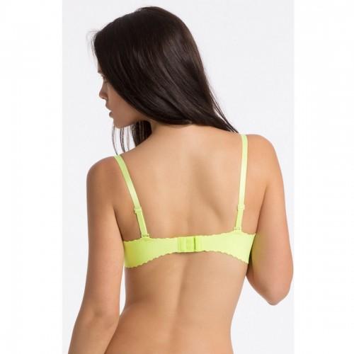 Prettysecrets Neon Lime Allure Ultra Boost Multiway Bra