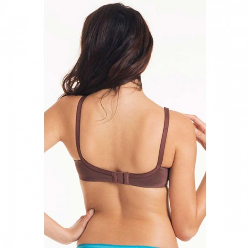 Triumph Chocolate Claudette Wireless Bra