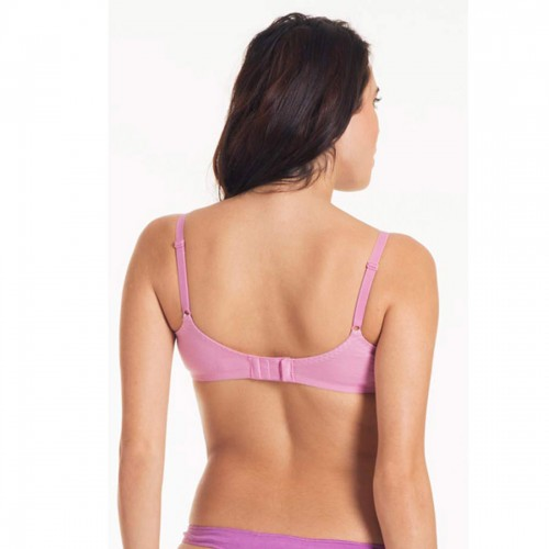 Triumph Pink Lace Half Cup Wireless Bra