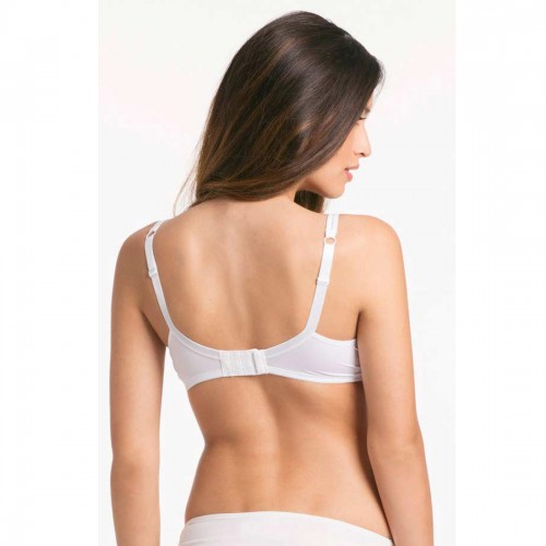 Peri Peri White Second Nature Everyday Support Bra