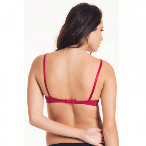 Lovable Red Tease Padded Non-Wired T-Shirt Bra