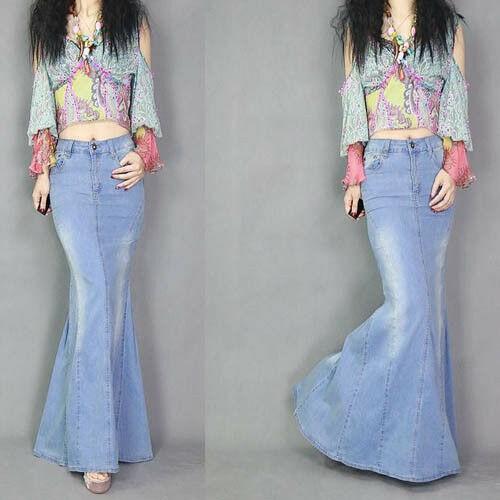 Woman Long Skirt