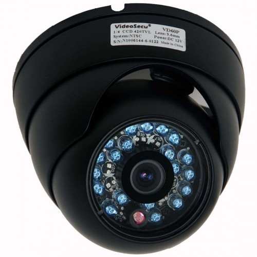 VideoSecu Day Night Vision Outdoor CCD CCTV