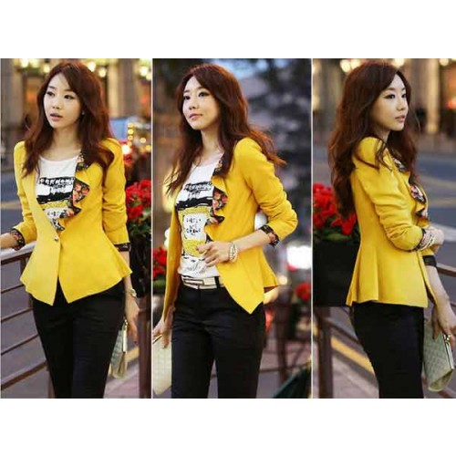 Stylish Yellow Jacket