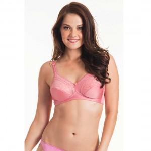 Triumph Pink Form And Beauty Wireless Bra