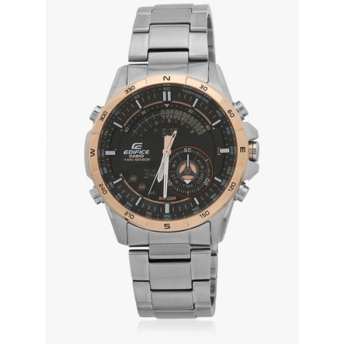 Casio Edifice Era-200Db-1A9dr WhiteBlack Analog & Digital Watch