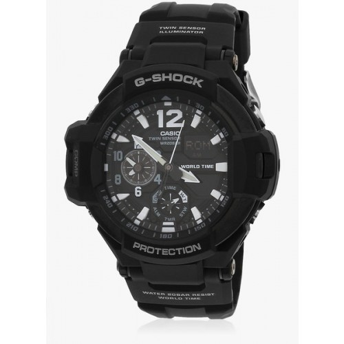 Casio G-Shock Ga-1100-1Adr BlackBlack Analog & Digital Watch