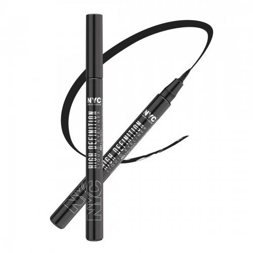 N.Y.C. High Definition Liquid Eyeliner( Extra Black)