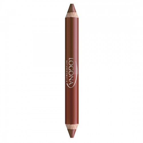 Logona Double Lip Pencil (No. 2 Chestnut)