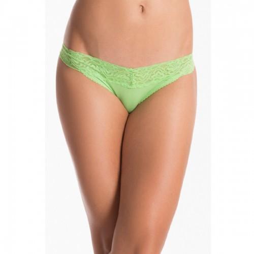 Prettysecrets Fresh Green Lacy Thong