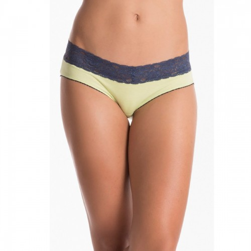 Prettysecrets Lime Navy Lacy Hipster