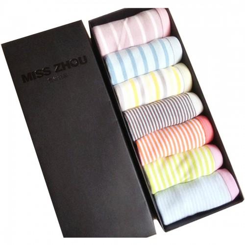 Stripe Design Panties (Set of 7 Pcs)