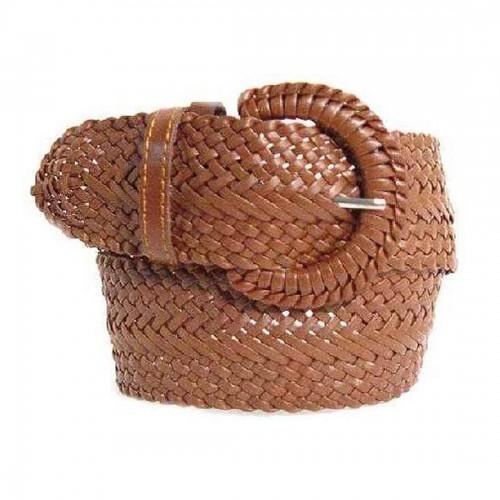 Brown Braided Belt, Thailand