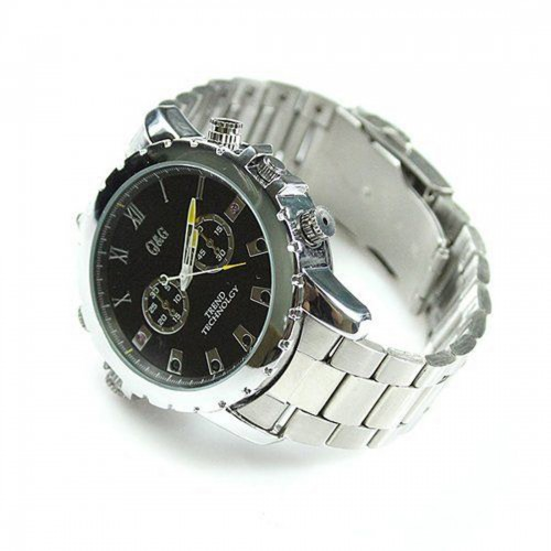 Flylink Watch DVR - HD 1080P Night Vision Waterproof Video Recording 16GB Internal Memory
