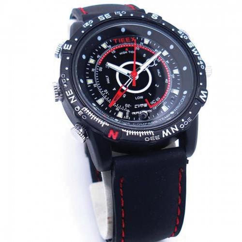 Night Vision Waterproof Spy DVR Camera Watch 16GB & 32GB Spy Watch 1280X960